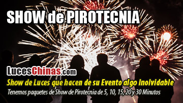 Show de Pirotecnia en Guatemala