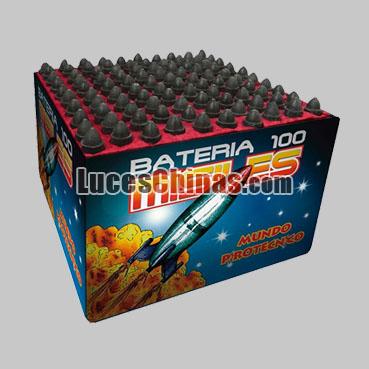 MISIL de 100 Disparos Misiles Pirotécnicos