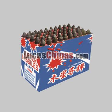 Misil de 49 Disparos Misiles Pirotécnicos